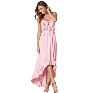 Dresses & Skirts - Lovely high-low baby pink dress
